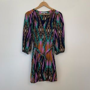 Collective Concepts Multicolor Printed Dress